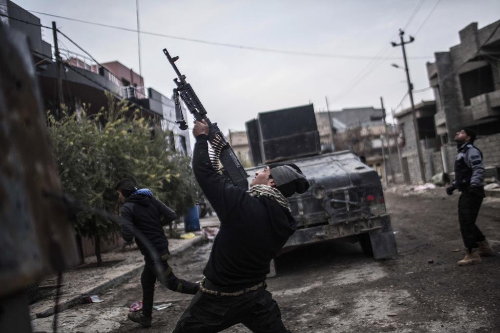 Iraqi troops resume Mosul fight after 2-week     | Taiwan News