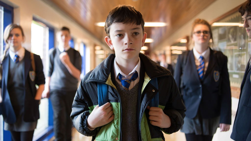 """This image released by Focus Features, Lewis MacDougall appears in a scene from """"A Monster Calls."""" (Jose Haro/Focus Features via AP)   ..."""