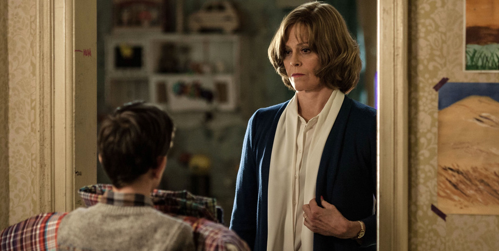 """This image released by Focus Features, Sigourney Weaver appears in a scene from """"A Monster Calls."""" (Quim Vives /Focus Features via AP) ..."""