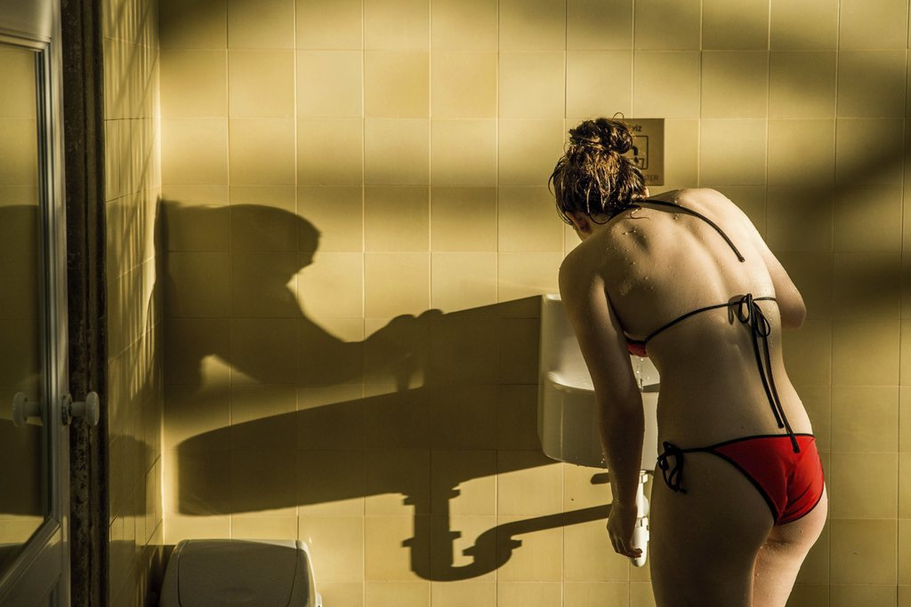 FILE - In this March 21, 2016 file photo a visitor drinks from a tap in Szechenyi Thermal Bath and Swimming Pool in Budapest, Hungary. ...