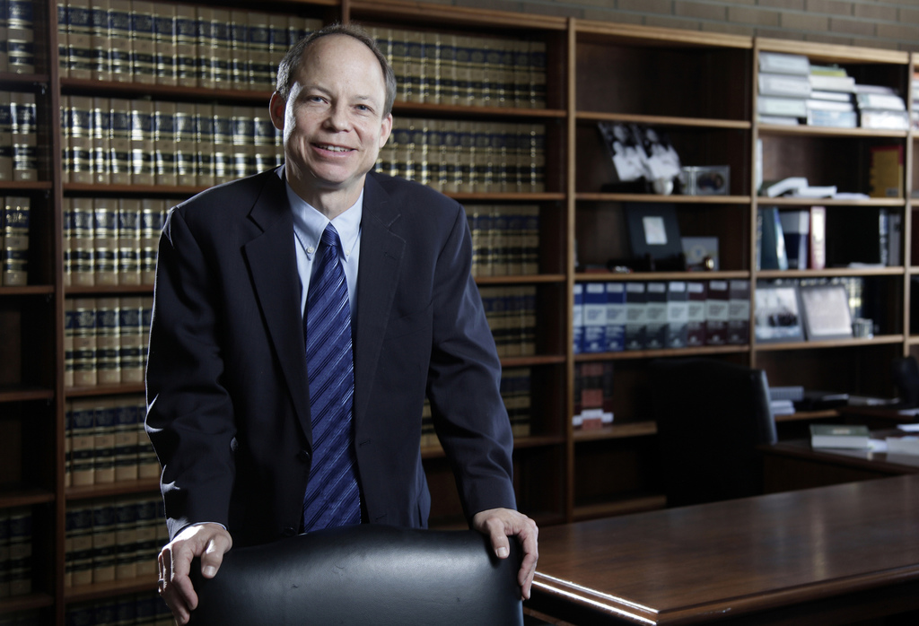 FILE - This June 27, 2011 file photo shows Santa Clara County Superior Court Judge Aaron Persky, who drew criticism for sentencing form...