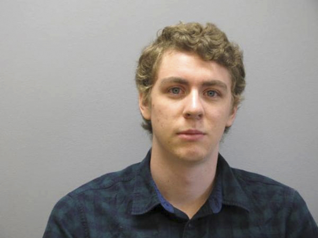 FILE - This Sept. 6, 2016 file photo released by the Greene County Sheriff's Office, shows Brock Turner at the Greene County Sheriff's ...