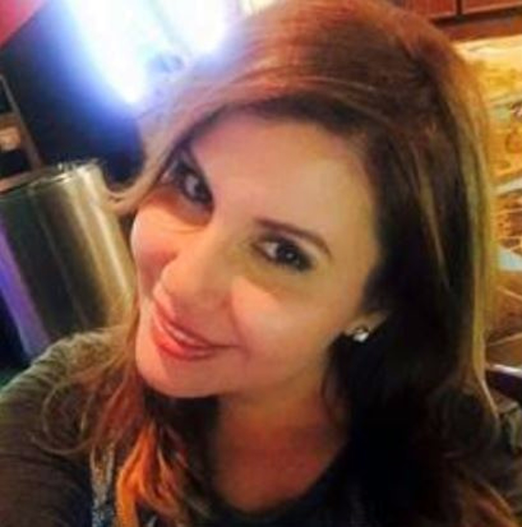 This undated photo of Lisa Marie Naegle was provided by her family to police and news media as they and authorities seek the public's h...