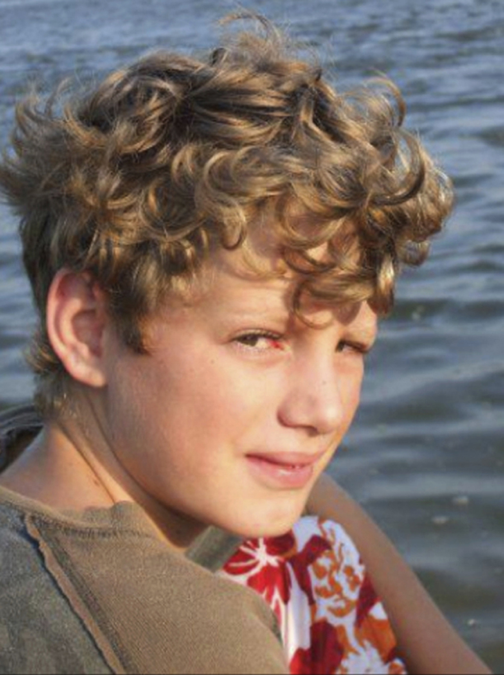 This summer 2011 photo provided by his mother shows Noah Daigle. Noah, 13, was accidentally shot on Dec. 30, 2011, by his best friend w...