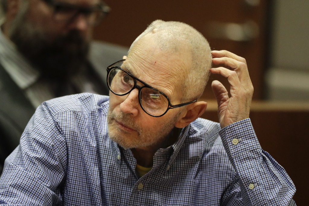 Real estate heir Robert Durst sits in a courtroom during a hearing Wednesday, Dec. 21, 2016, in Los Angeles. (AP Photo/Jae C. Hong, Poo...