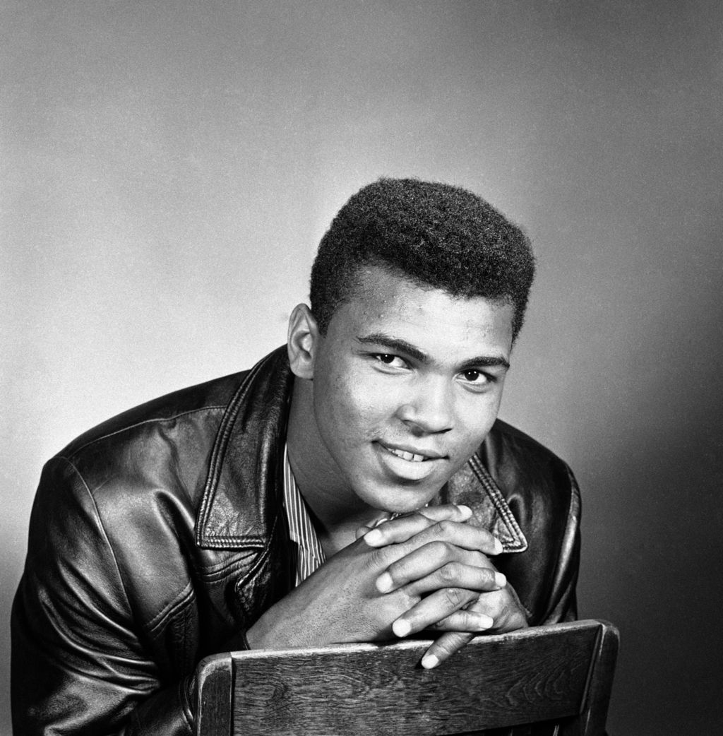 FILE - This is a Sept. 25, 1970, file photo, showing Muhammad Ali posed in Chicago. On that last ride, the one through his hometown, th...