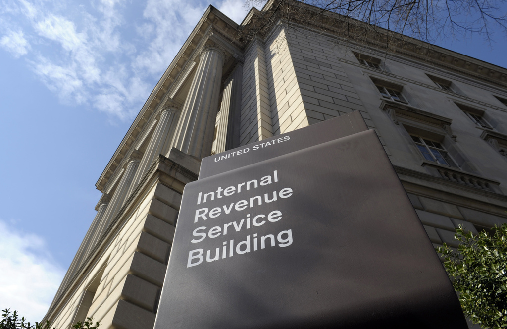 FILE - In this photo March 22, 2013 file photo, the exterior of the Internal Revenue Service (IRS) building in Washington. Congressiona...