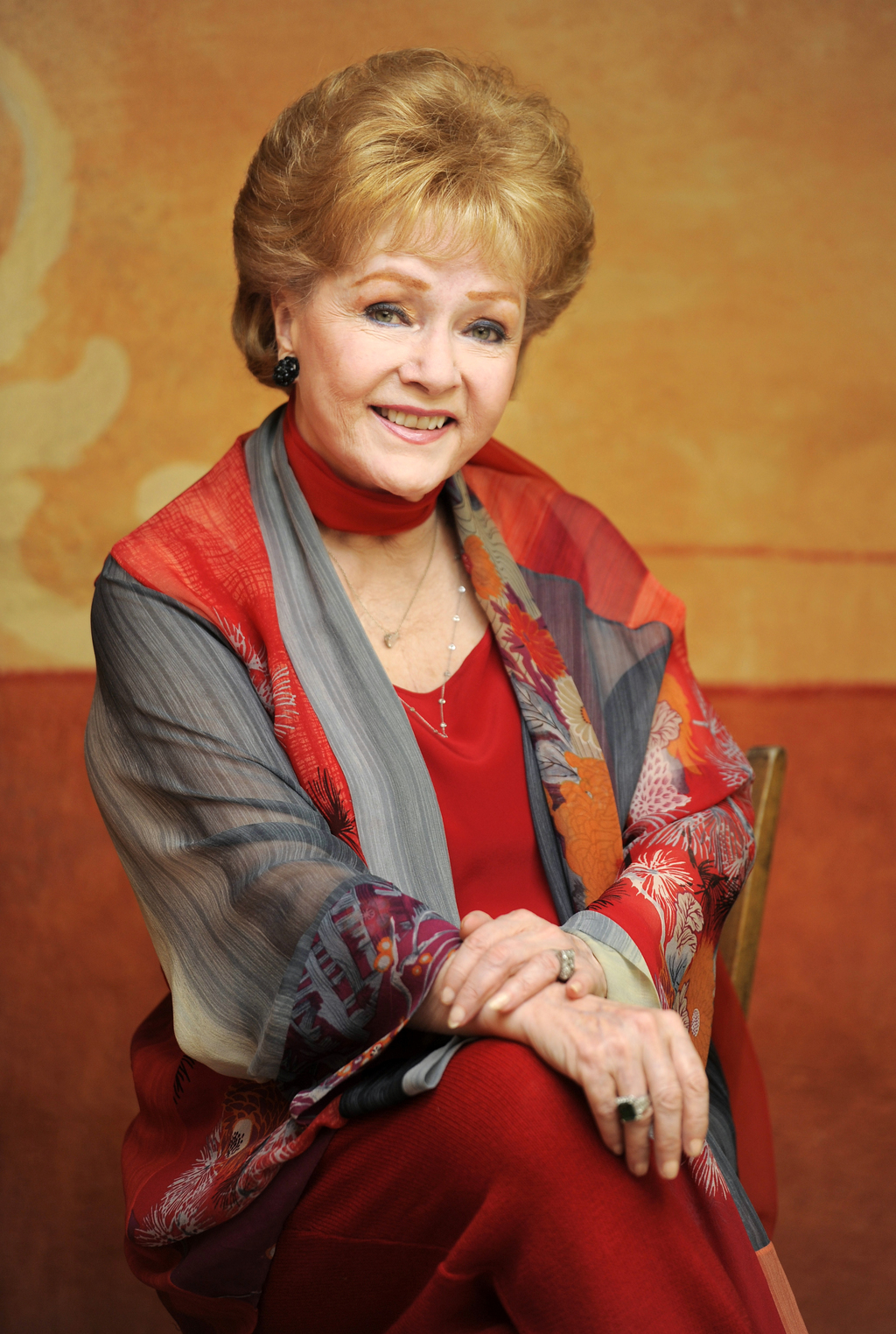 FILE - In this May 21, 2013 file photo, actress Debbie Reynolds poses for a portrait in Beverly Hills, Calif. Reynolds, star of the 195...