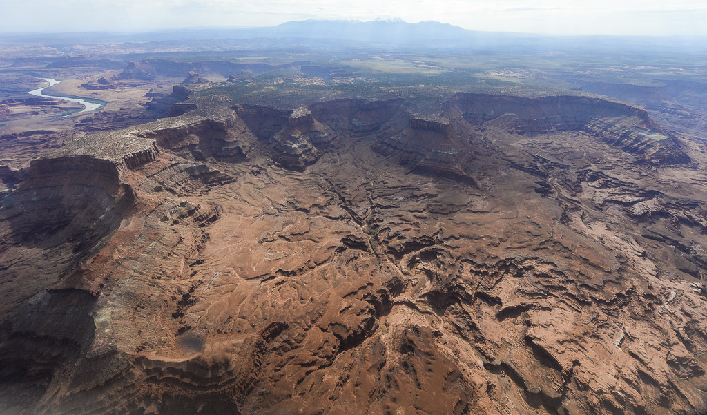 FILE - This May 23, 2016, file photo, shows Lockhart Basin, south of the Colorado River, within the boundary of the Bears Ears region i...