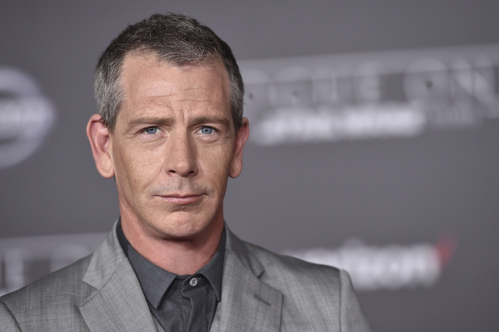 "FILE - In this Dec. 10, 2016 file photo, Ben Mendelsohn arrives at the world premiere of ""Rogue One: A Star Wars Story"" at the Pantages..."