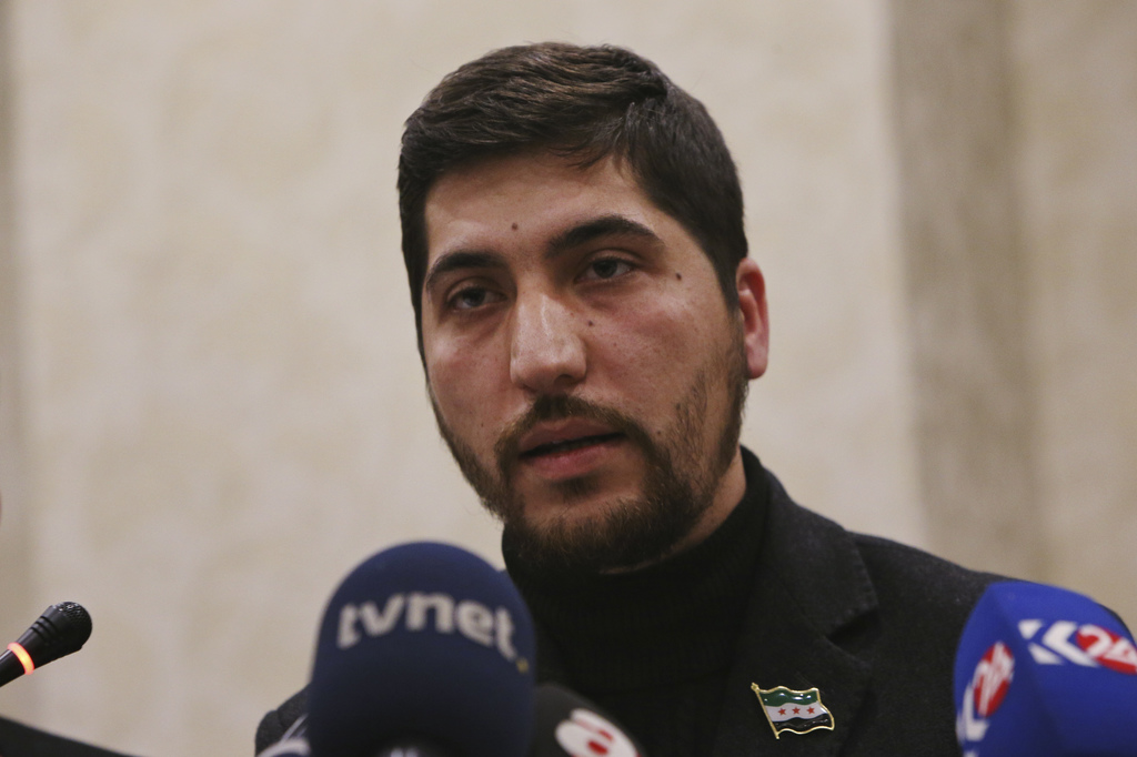 Osama Abu Zeid of the main moderate Syrian opposition group Free Syrian Army, talks about the five-point cease-fire agreement for Syria...