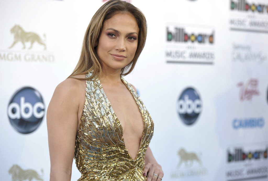 FILE - In this May 19, 2013, file photo, Jennifer Lopez arrives at the Billboard Music Awards at the MGM Grand Garden Arena in Las Vega...
