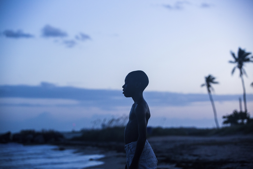 """This image released by A24 Films shows Alex Hibbert in a scene from the film, """"Moonlight."""" The film won an Oscar for best picture on Fe..."""