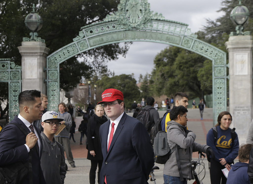 Berkeley campus chaos spurs questions at free    | Taiwan News