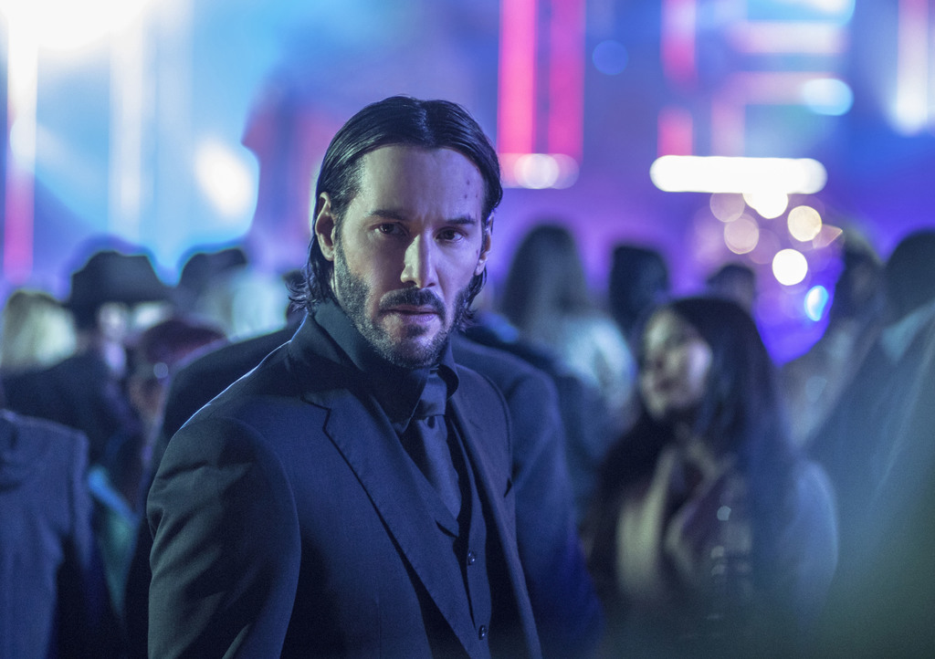 """This image released by Lionsgate shows Keanu Reeves in a scene from, """"John Wick: Chapter 2."""" (Niko Tavernise/Lionsgate via AP)         ..."""