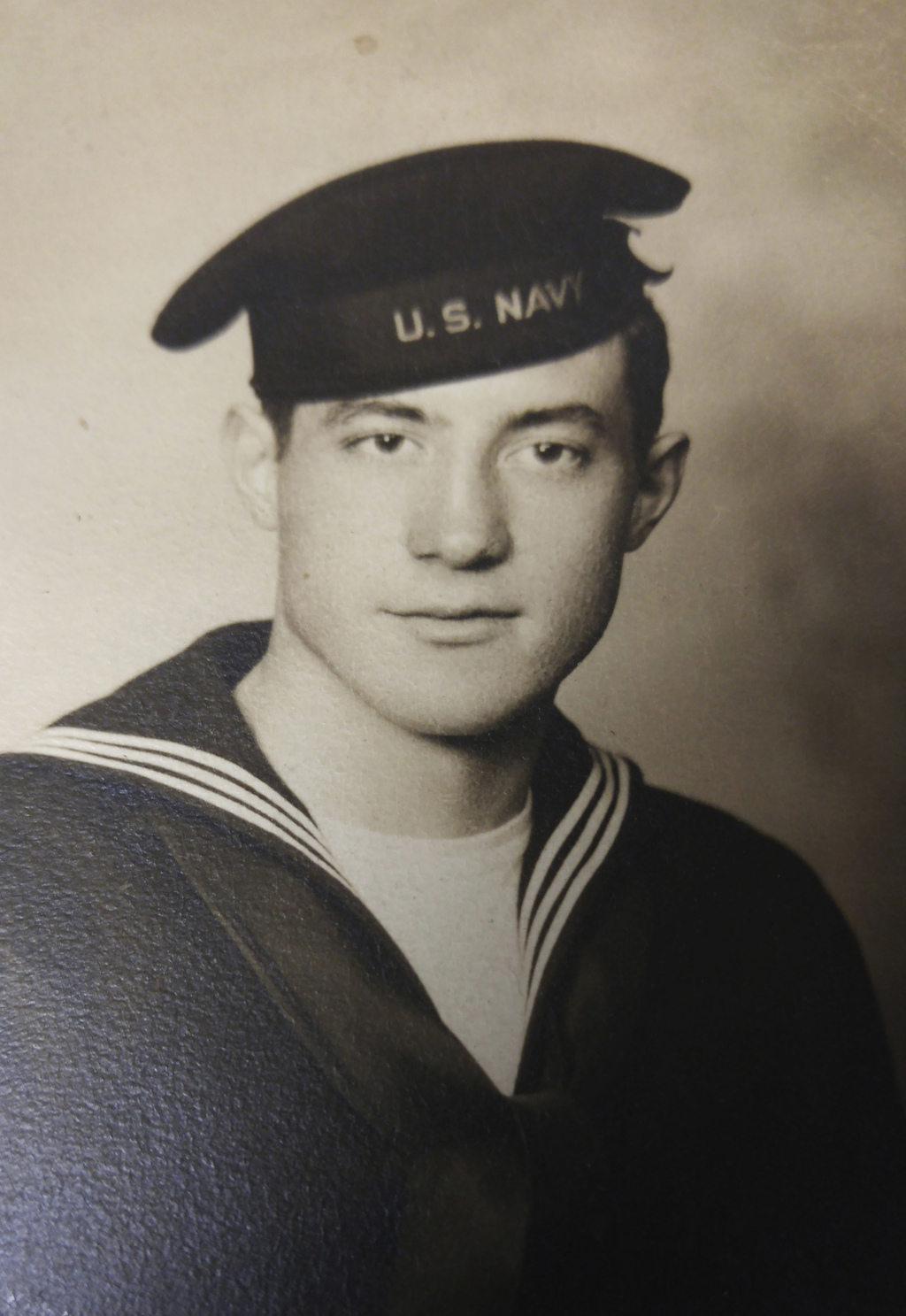 This circa 1942 photo provided by James Lafayette shows Fireman 1st Class Richard Duffy. Duffy is among the American sailors still list...