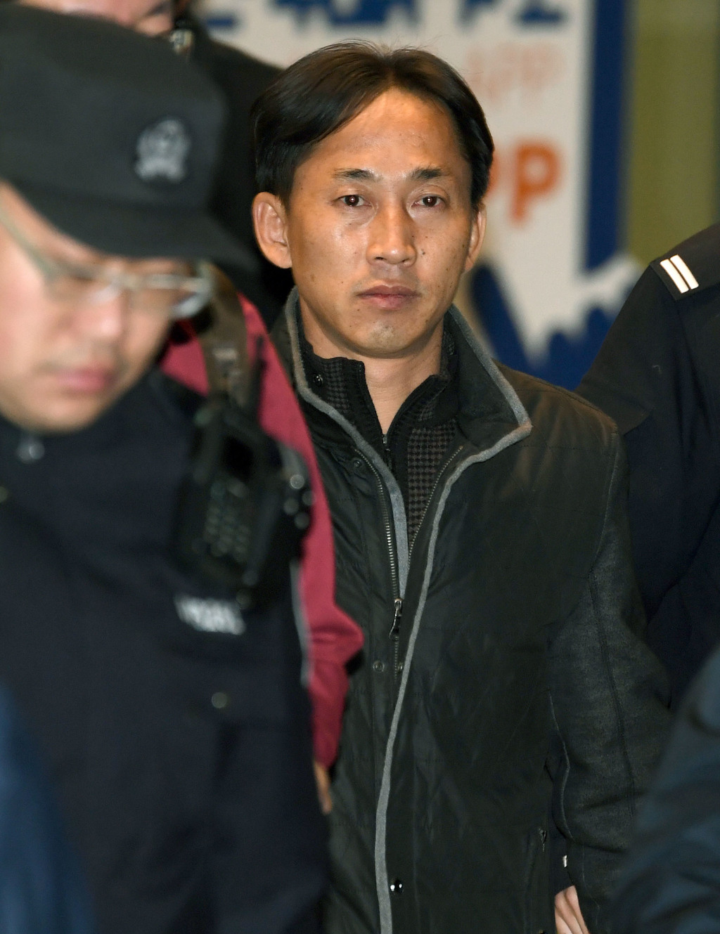 North Korean Ri Jong Chol detained in the killing of the half brother of North Korea's leader, arrives at Beijing Capital International...