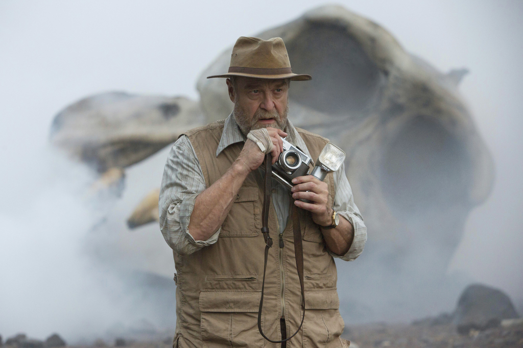 """In this image released by Warner Bros. Pictures, John Goodman appears in a scene from, """"Kong: Skull Island."""" (Chuck Zlotnick/Warner Bro..."""