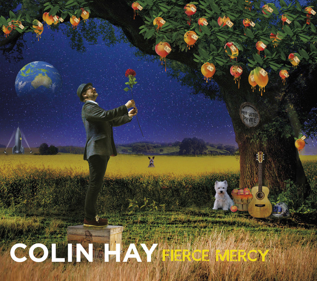 """This cover image released by Compass Records shows """"Fierce Mercy,"""" a release by Colin Hay. (Compass Records via AP)"""