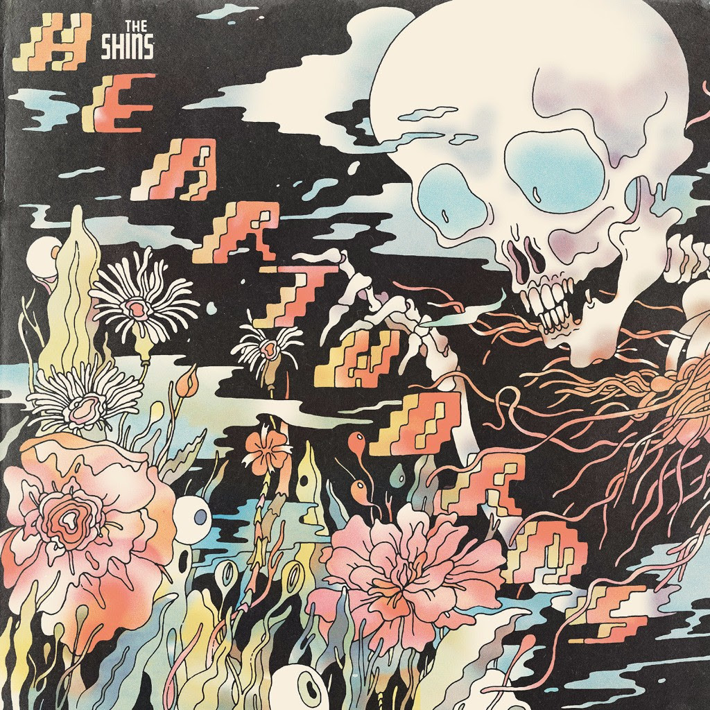 "This cover image released by Aural Apothecary/Columbia Records shows, ""Heartworms,"" a new release by The Shins. (Aural Apothecary/Colum..."