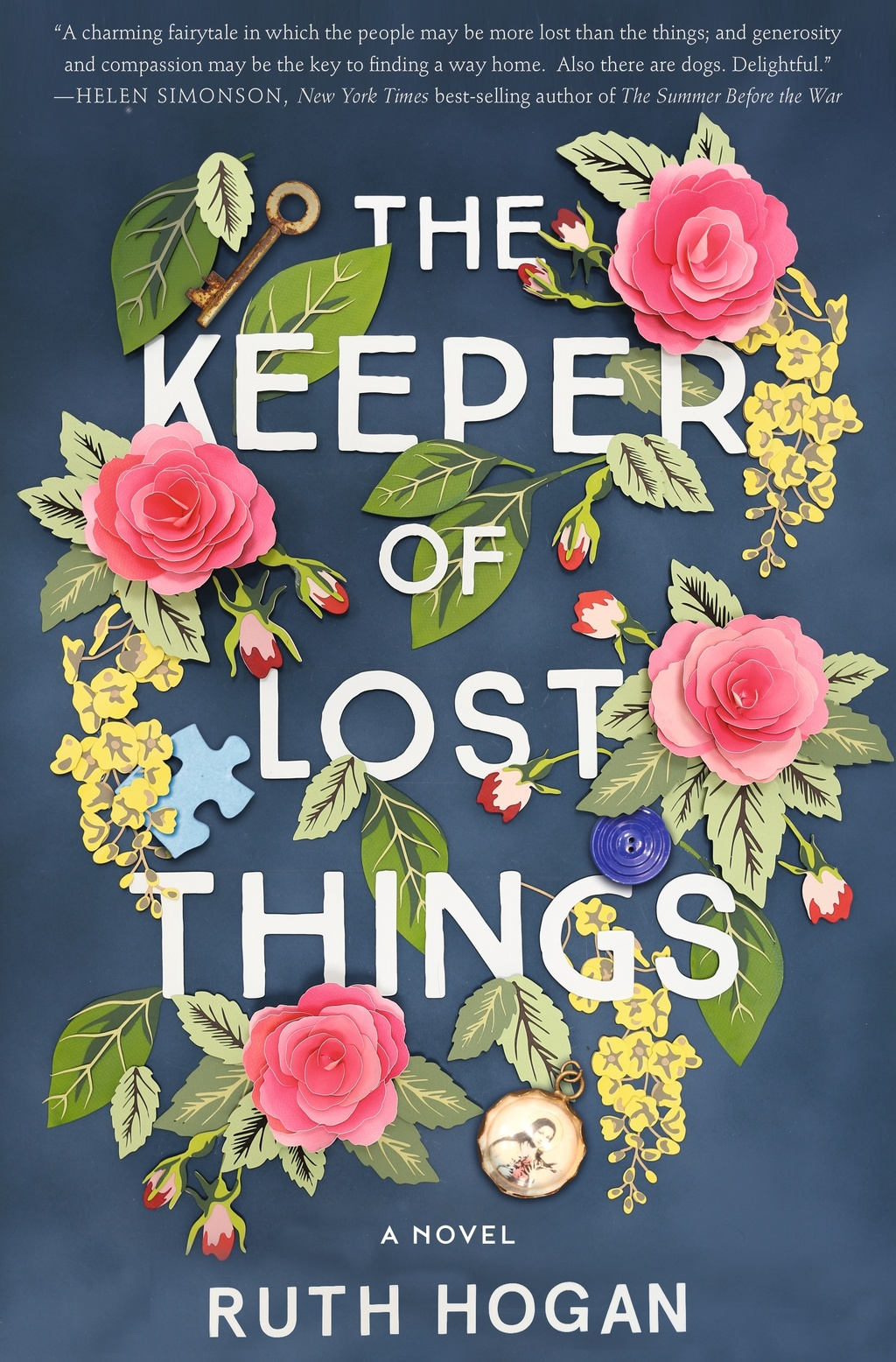 """This cover image released by William Morrow shows """"The Keeper of Lost Things,"""" a novel by Ruth Hogan. (William Morrow via AP)          ..."""
