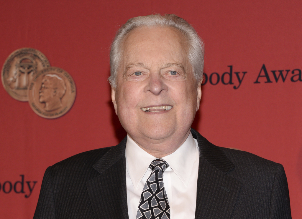 FILE - In this May 19, 2014 file photo, Robert Osborne attends the 73rd Annual George Foster Peabody Awards in New York.  Osborne, the ...