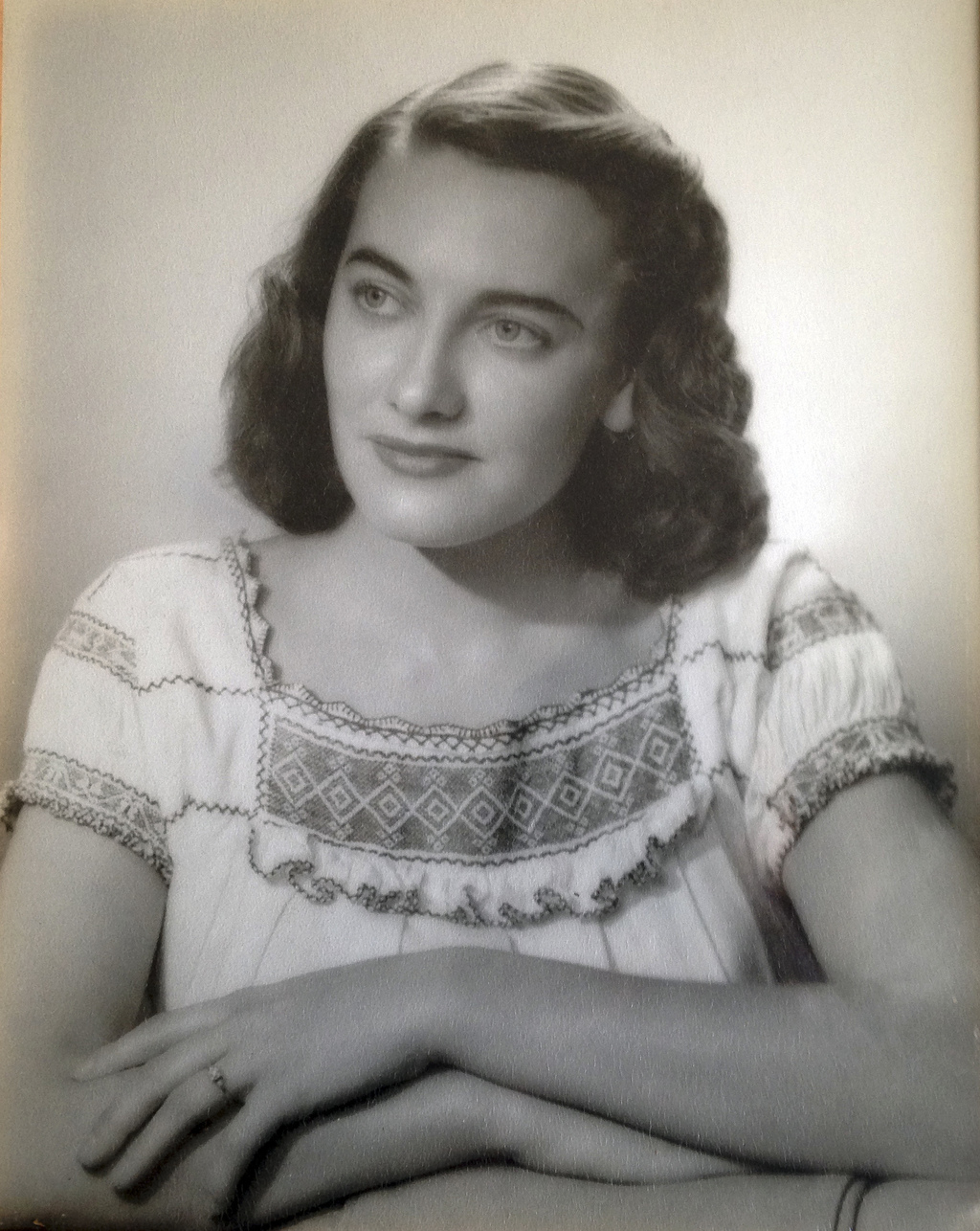 This undated photo provided by the Haley family shows Jean Haley, of Barrington, R.I., when she was about 25 years old. Jean and her tw...