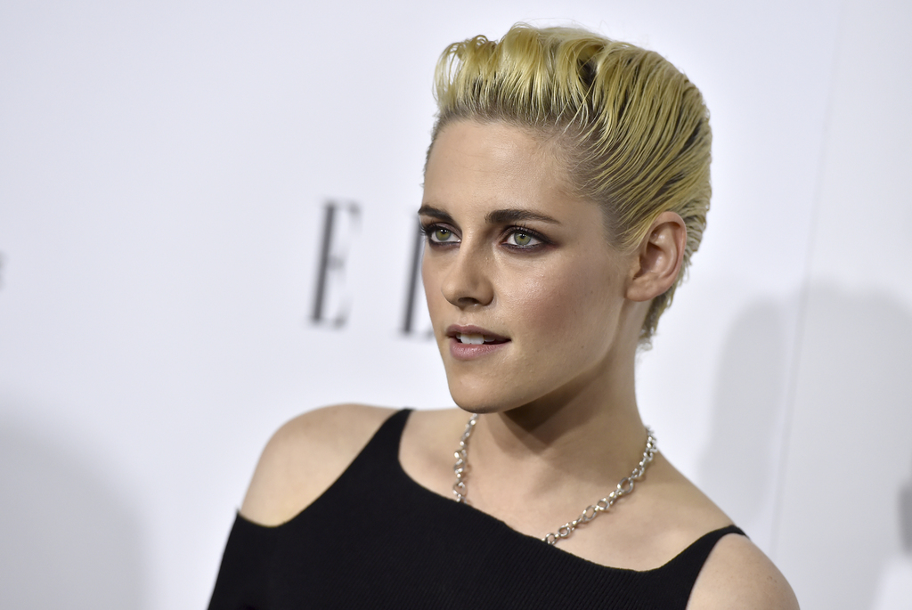 FILE - In this Oct. 24, 2016, file photo, Kristen Stewart arrives at the 23rd annual ELLE Women in Hollywood Awards at the Four Season ...