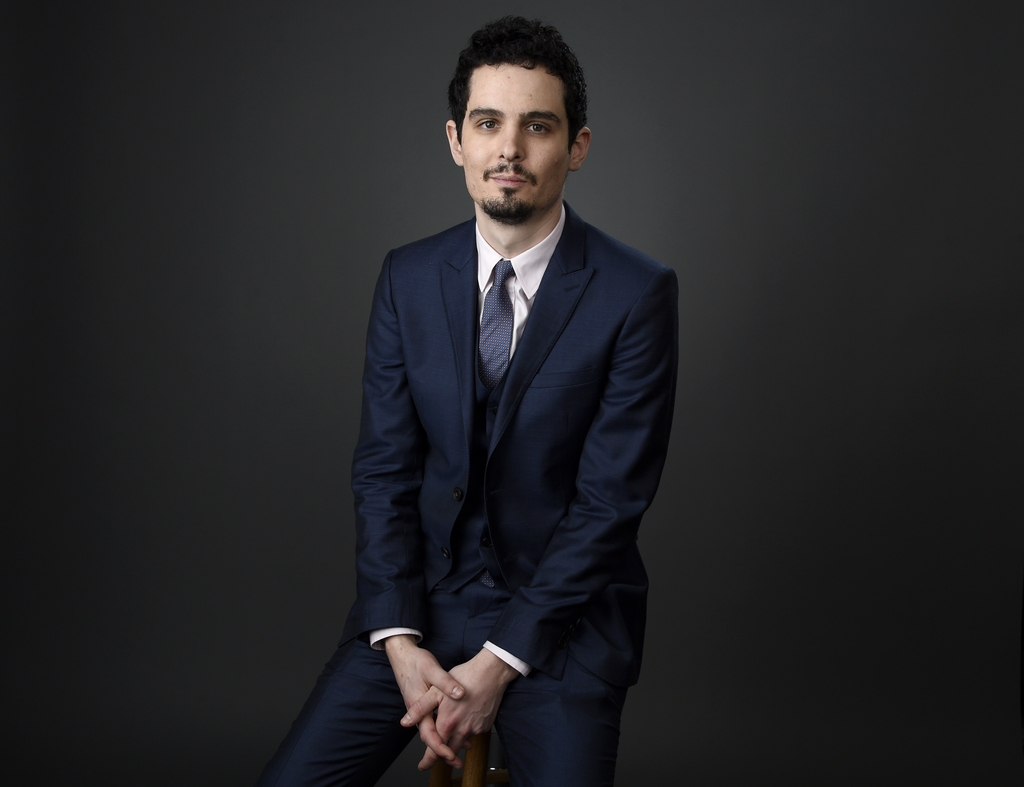 FILE - In this Feb. 6, 2017 file photo, Damien Chazelle poses for a portrait at the 89th Academy Awards Nominees Luncheon in Beverly Hi...