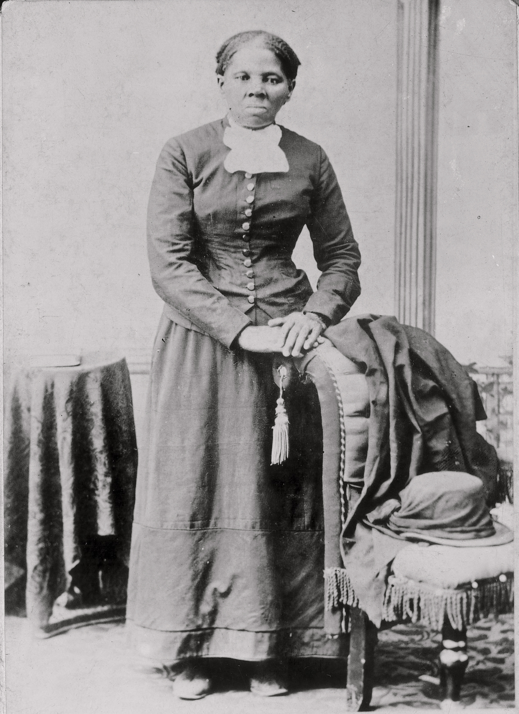 FILE - This photograph released by the Library of Congress shows Harriet Tubman in a photograph dating from around 1860-75. (Library of...