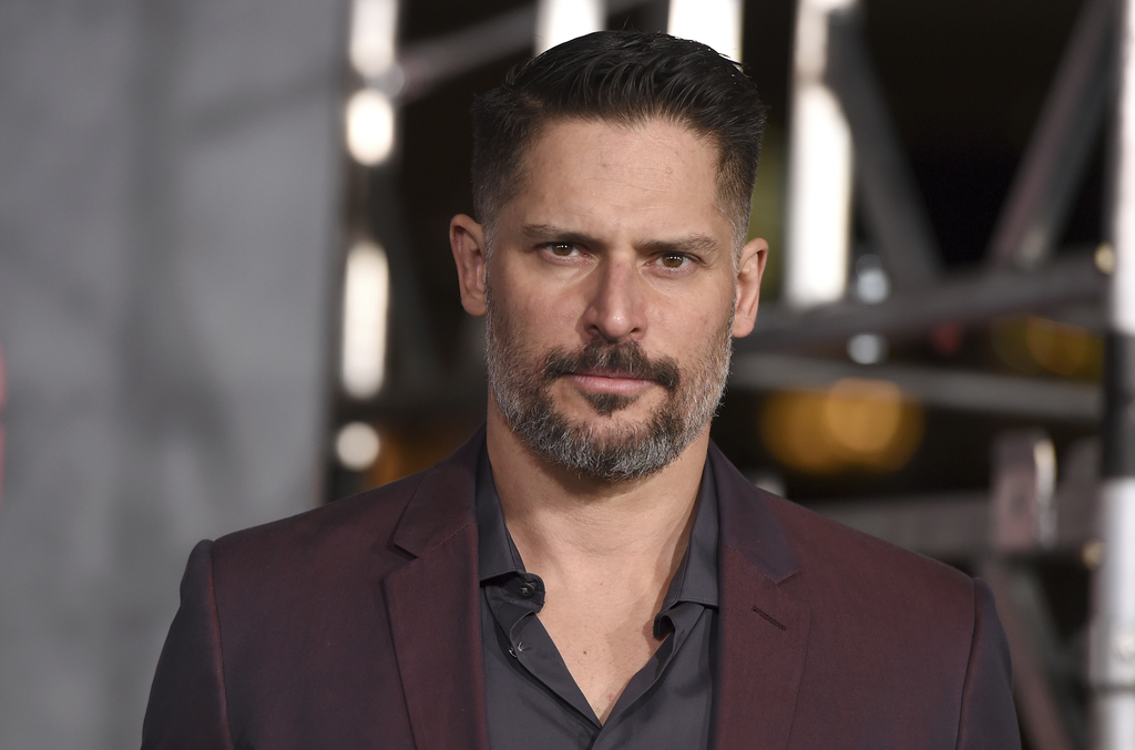 """Joe Manganiello arrives at the Los Angeles premiere of """"Kong: Skull Island"""" at the Dolby Theatre on Wednesday, March 8, 2017. (Photo by..."""