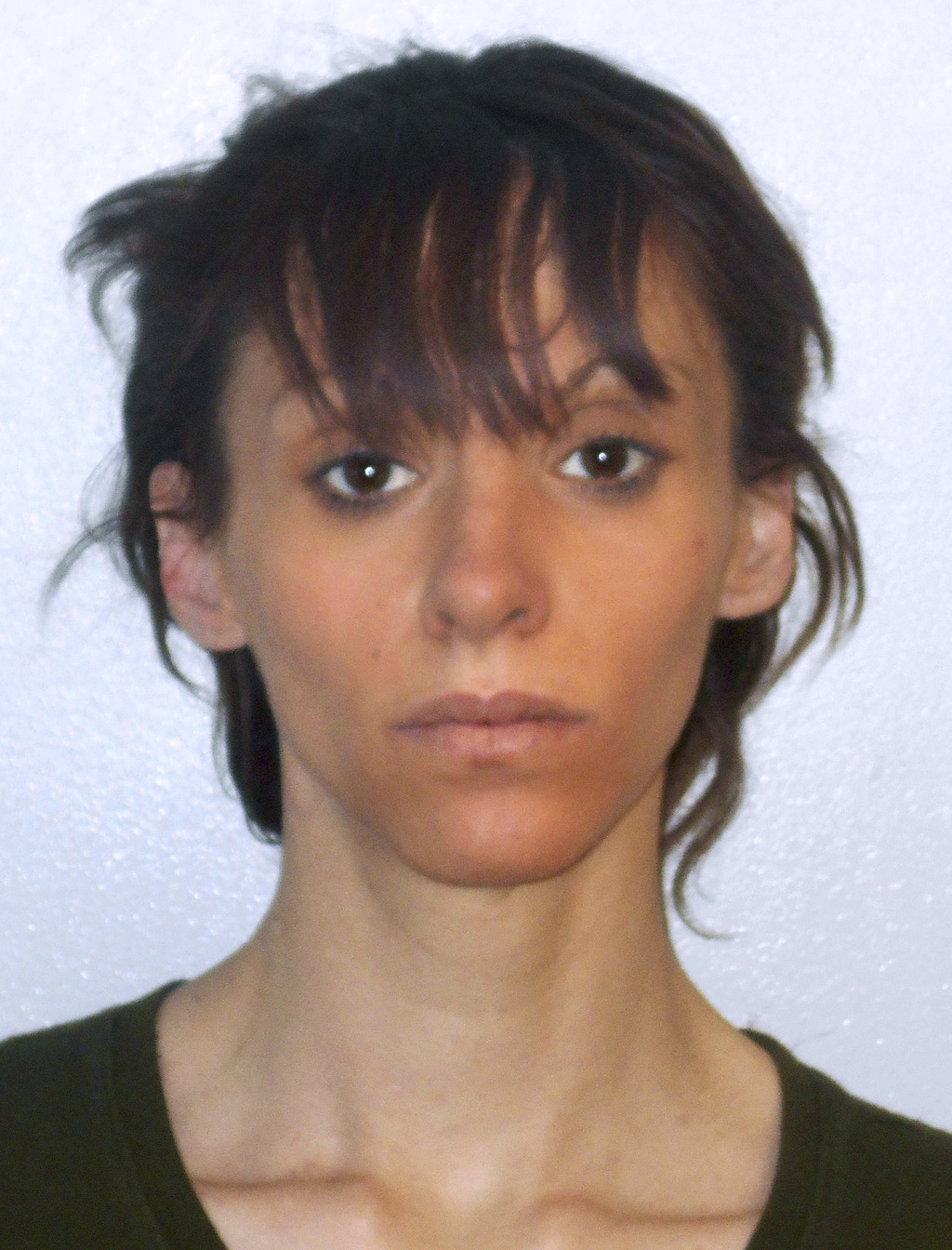 This booking photo released Wednesday, March 8, 2017, by the Concord, N.H., Police Department shows Felicia Farruggia, arrested about s...