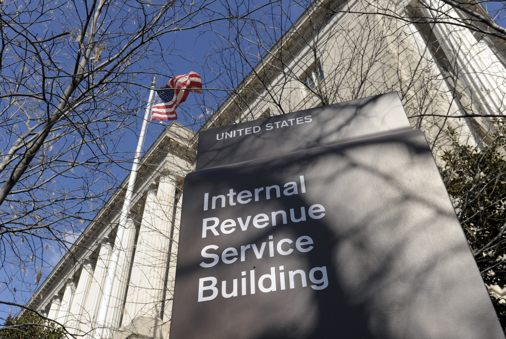 FILE - In this March 22, 2013 file photo, the exterior of the Internal Revenue Service building in Washington. The IRS strikes back: Th...