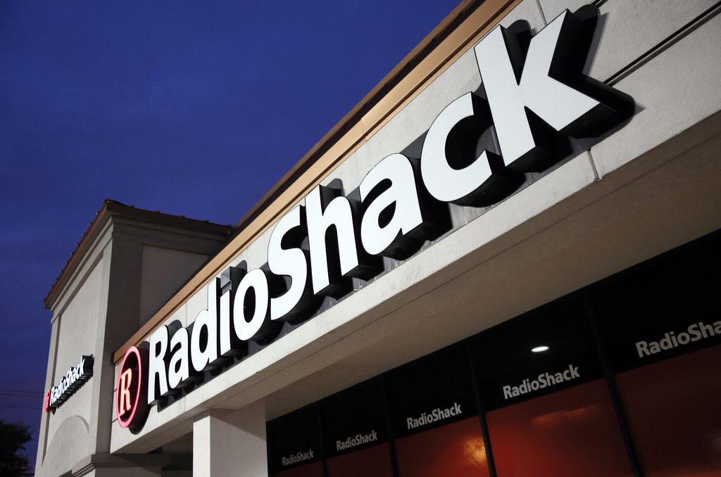 FILE - This Tuesday, Feb. 3, 2015 file photo shows a RadioShack store in Dallas. Troubled electronics retailer RadioShack has filed for...