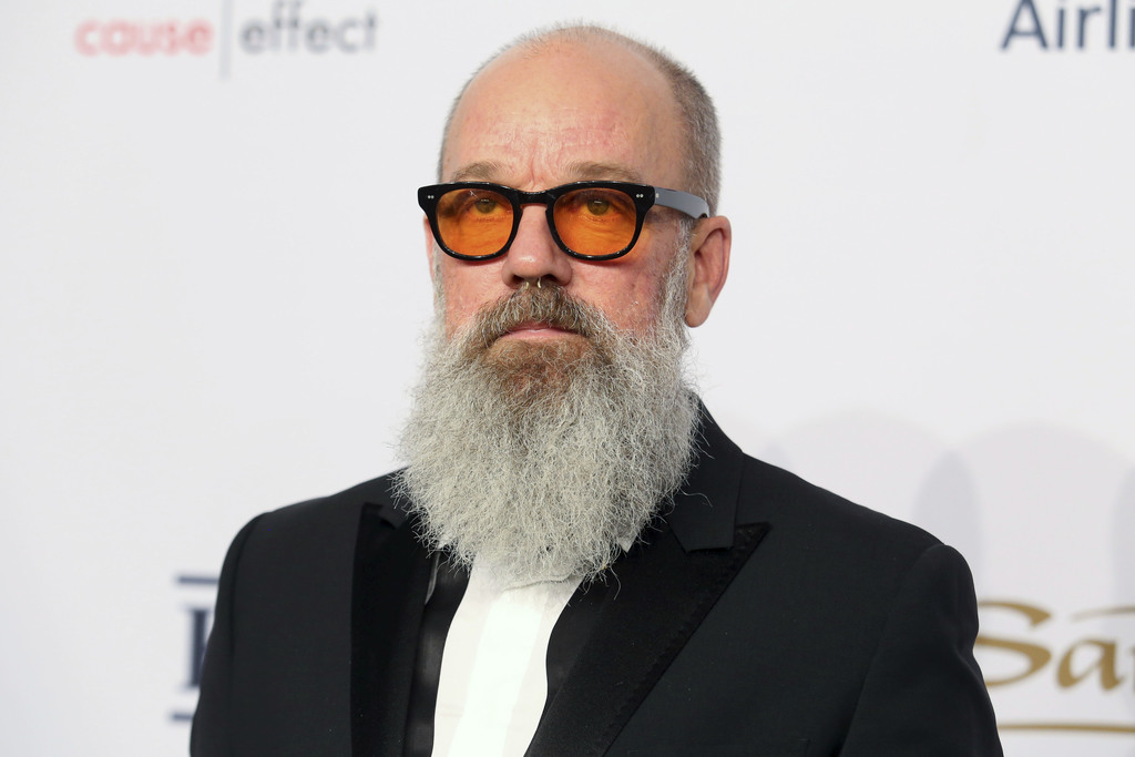 FILE - In this Nov. 2, 2016, file photo, Michael Stipe attends the Elton John AIDS Foundation's 15th Annual An Enduring Vision Benefit ...