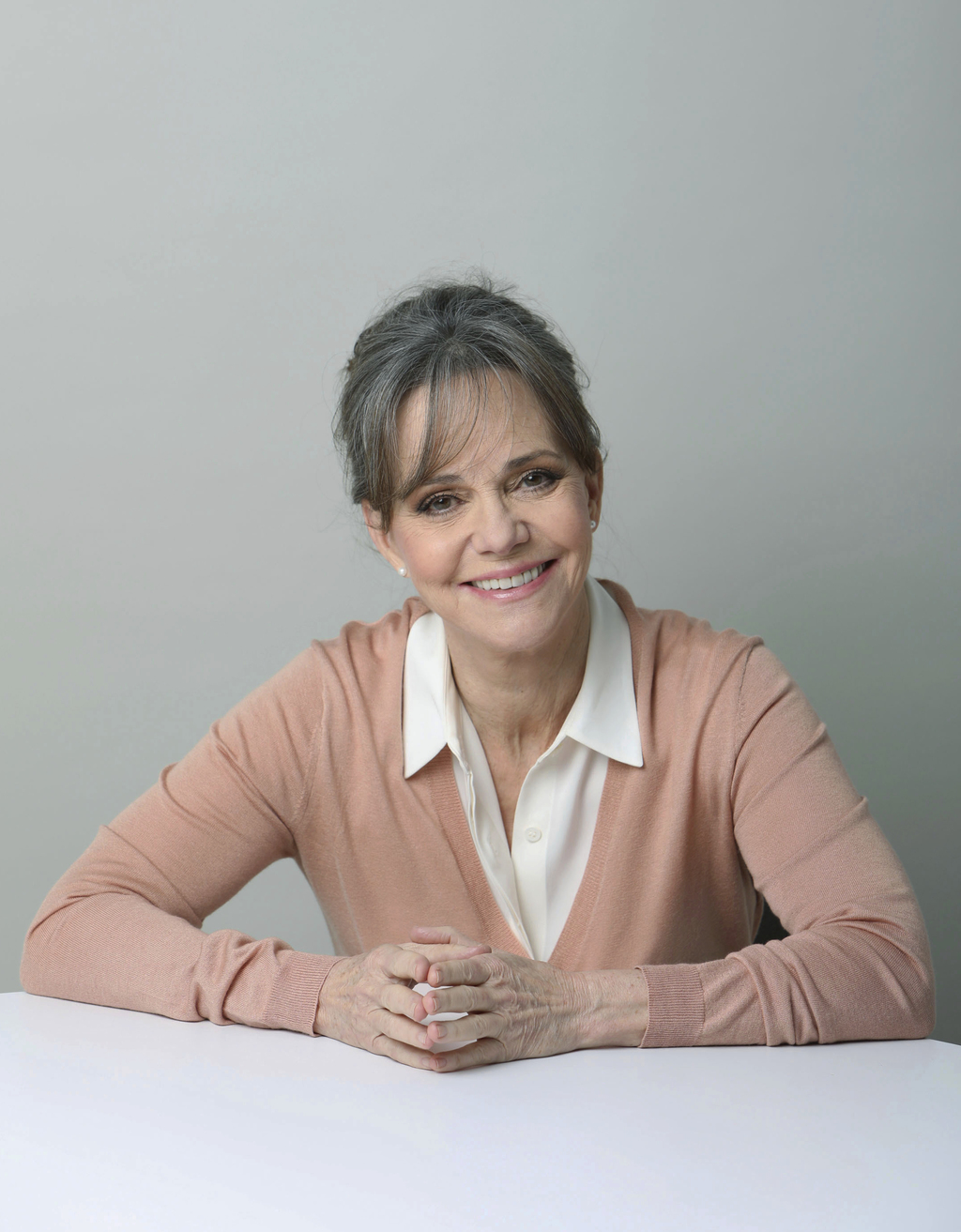 In this March 3, 2017 photo, actress Sally Field poses for a portrait in New York. The Emmy- and Oscar-winner is playing Amanda Wingfie...