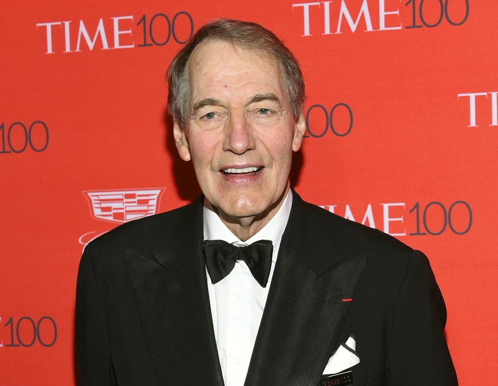 FILE - In this April 26, 2016 file photo, Charlie Rose attends the TIME 100 Gala, celebrating the 100 most influential people in the wo...
