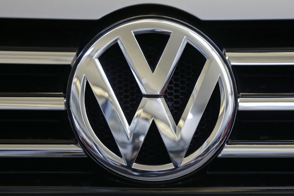 FILE - This Feb. 14, 2013, file photo, shows the logo on the grill of a Volkswagen on display in Pittsburgh. On Friday, March 10, 2017,...