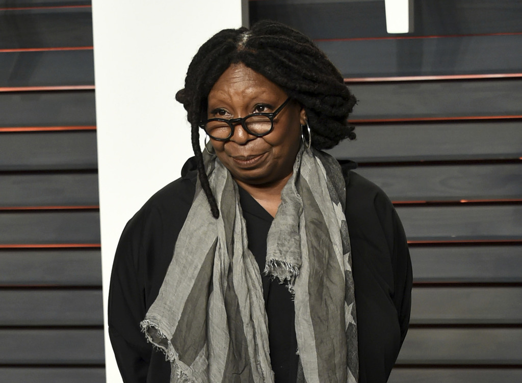 FILE - This Feb. 28, 2016, file photo, shows Whoopi Goldberg at the Vanity Fair Oscar Party in Beverly Hills, Calif. An ABC spokeswoman...