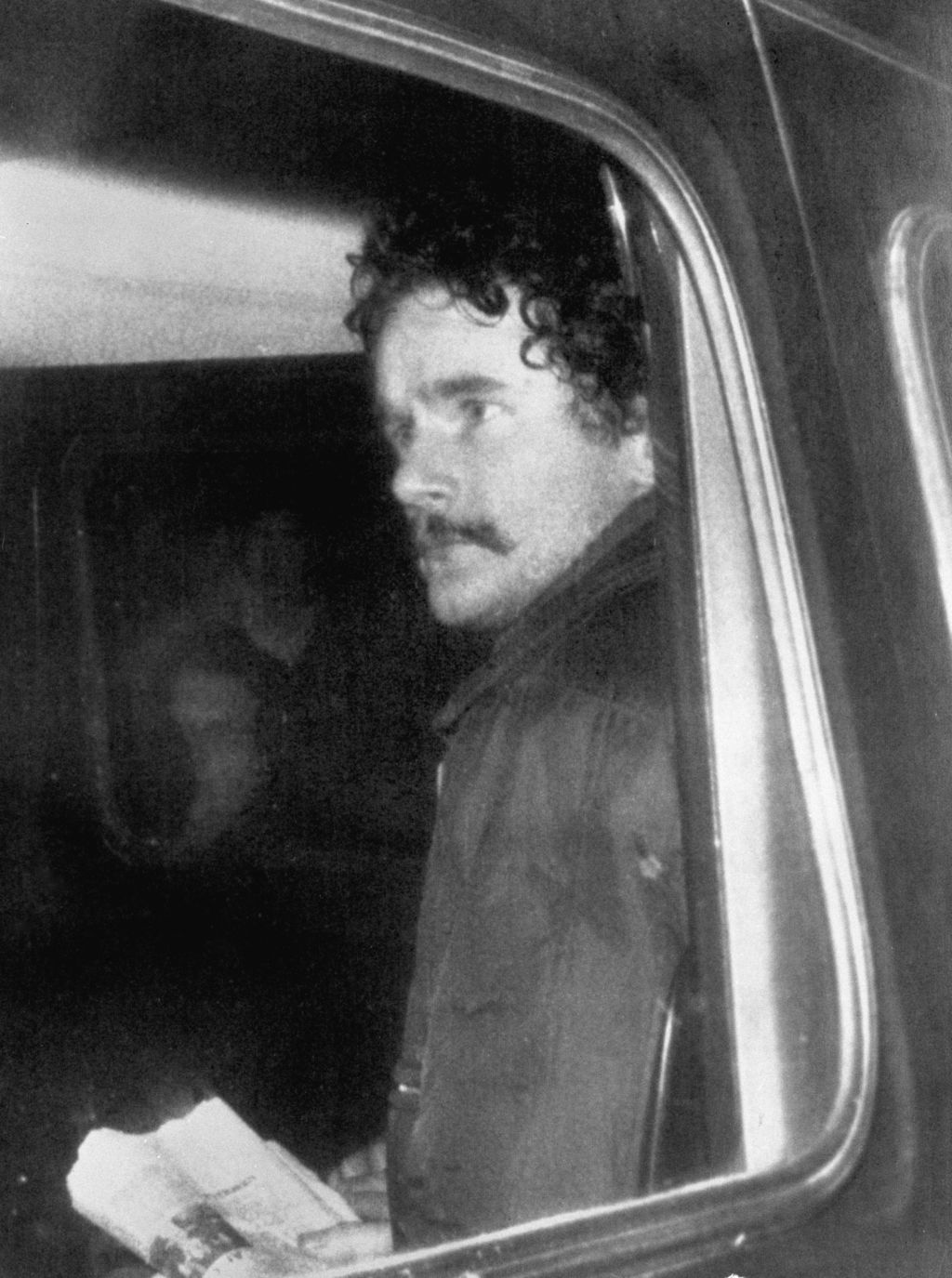 FILE - In this Jan. 1, 1973 file photo of Northern Ireland's former deputy first minister and ex-IRA commander Martin McGuinness. McGui...