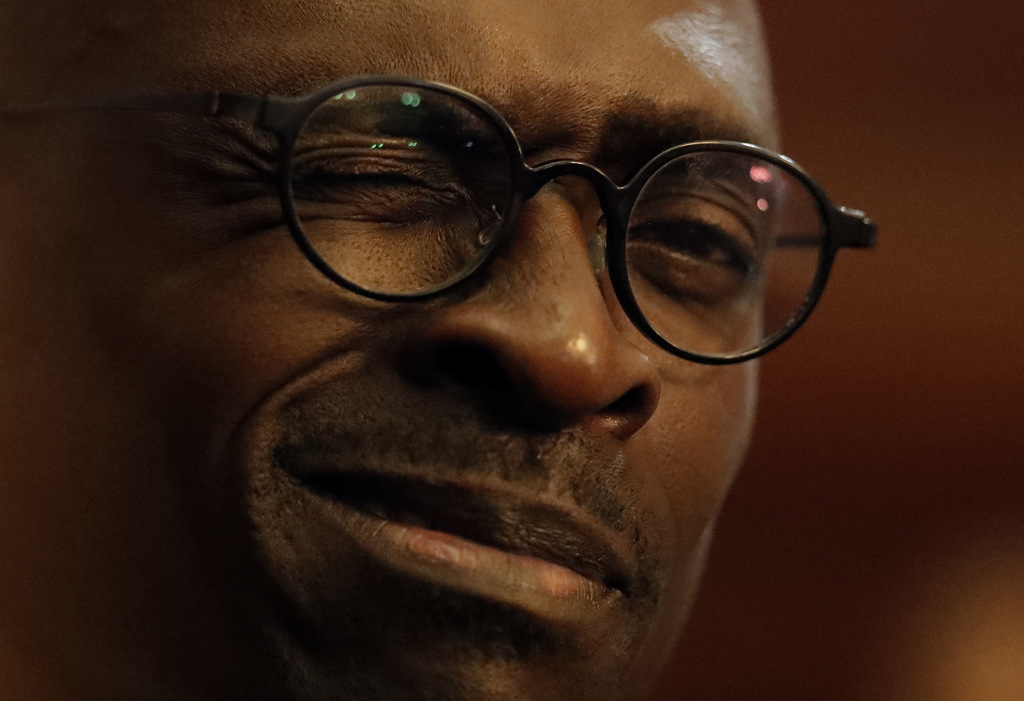 Malusi Gigaba, a newly appointed finance minister, at the presidential guest house in Pretoria, South Africa, Friday, March 31, 2017.  ...