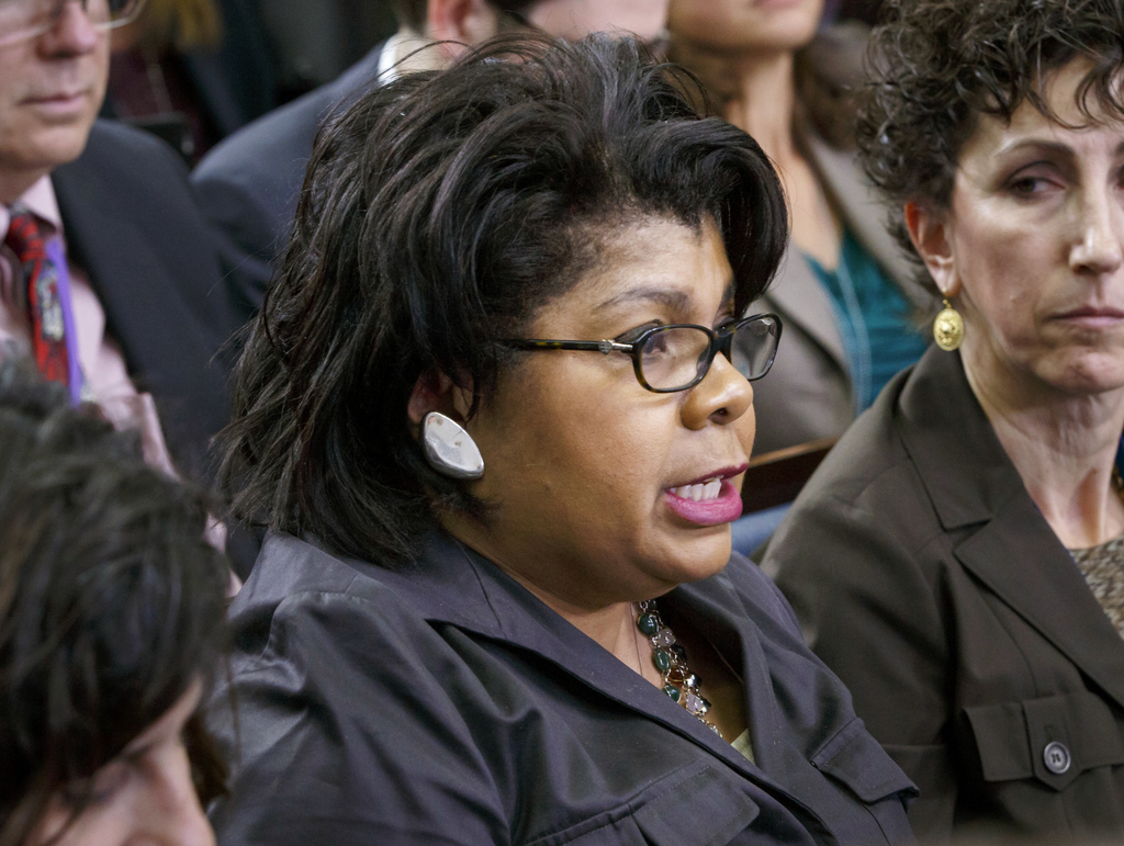 April Ryan finds herself in the Trump spotlight
