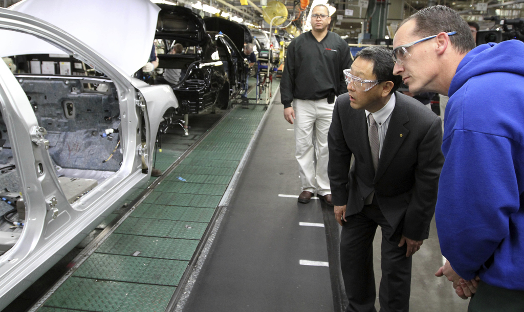 Toyota announces $1.33 billion investment in US Kentucky factory