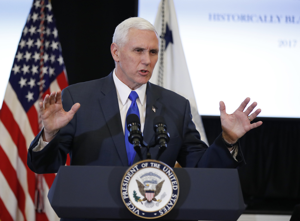 Pence visits Korean demilitarised zone