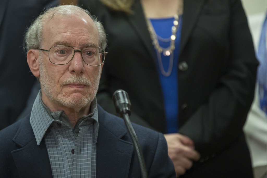 Stan Patz, father of 6-year-old Etan Patz, speaks to reporters after Pedro Hernandez, the man convicted of killing 6-year-old Etan Patz...