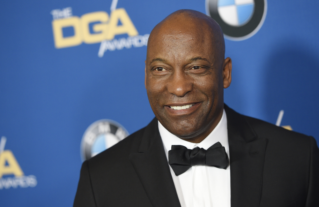 FILE - In this Feb. 4, 2017 file photo, director John Singleton appears at the 69th Annual Directors Guild of America Awards in Beverly...