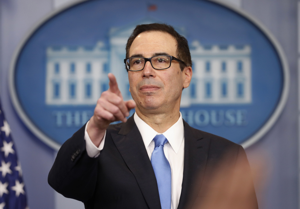 Treasury chief cites 'largest tax reform' ever