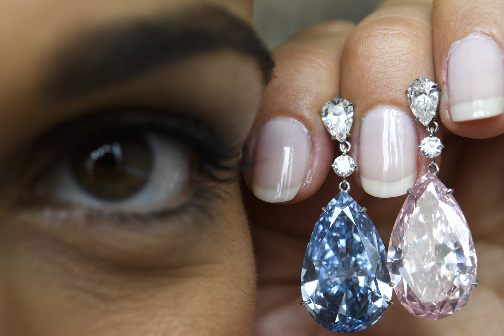 Heart-shaped diamond sells for $13M, under auction estimate