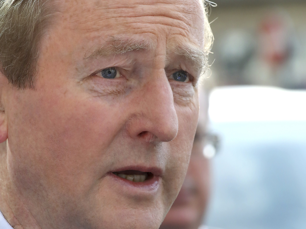 Enda Kenny has officially announced his resignation