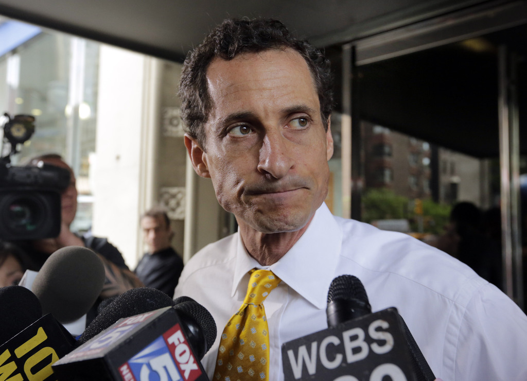 Former US Rep. Anthony Weiner to plead guilty in sexting case